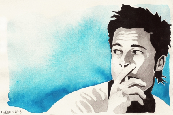 Brad Pitt by Estherproductos
